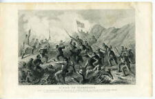 1860s Civil War Print Siege of Vicksburg