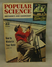 Popular Science Mechanics and Handicraft October 1951 How To Winterize Your Home