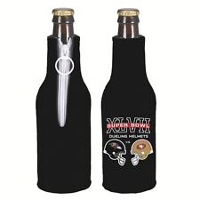 Super Bowl 47 XLVII 2012 Match up Helmets 49ers Ravens NFL Bottle Holder Koozie