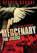 Mercenary for Justice DVD, 2009, Full Screen-Widescreen Steven Segal