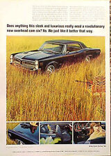 1966 Pontiac LeMANS Le MANS  Original OLD AD   CMY STORE 4MORE   5+= FREE SHIP