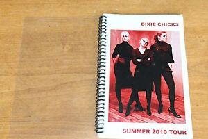 Dixie Chicks / TOUR ITINERARY / USA Canada Tour Summer 2010