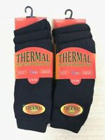 6 12 Pairs Men's Thermal Winter Socks Thick Cotton Blend Warm Ski Hiking UK 6-11