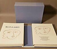Florilège des amours de Ronsard. Illustrations de Henri MATISSE. BE.