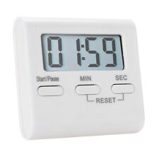 US Digital Kitchen Cooking Timer BBQ Baking LCD Count Down Up Loud Alarm
