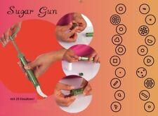 Sugar Gun mit 20 Einsätzen, Fondantpresse, Dekorpresse