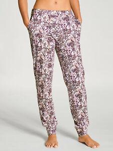 Calida Damen Pyjama Hose Schlafanzug Hose Loungewear Baumwolle Nachtwäsche