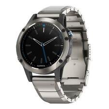 Garmin Quatix 5 Marine GPS Stainless Steel Sapphire w/Metal Band 010-01688-41