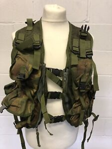 British Military Woodland DPM Tactical Webbing Vest