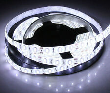 LED STRIP LIGHT 5 METERS WATER-PROOF 5050 SMD WHITE FLEXIBLE IP20