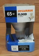 Genuine Sylvania (BR30) 65W 120V Indoor Large Flood Light Bulb Only **READ**