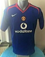MANCHESTER UNITED Football Shirt 2005/06 Maillot Soccer Jersey Trikot Camiseta