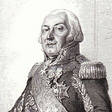 François Henri de Franquetot de Coigny Restauration Louis XVIII Invalides