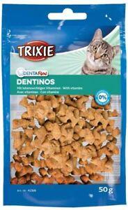12 X Dentinos Con Vitamine 50 Gg Snack per Gatti Gatto Snack Cura Dei Denti