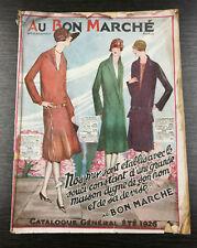 Vintage French Fashion Catalogue - Au Bon Marche 1926
