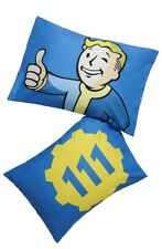 Fallout Vault-Tec Vault Boy Thumbs Up 111 Super Soft 2 Pack Pillowcase Set NWT!