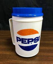 Vintage Pepsi Cola Insulated Travel Tumbler Mug Cup 16 oz Brookside Store USA