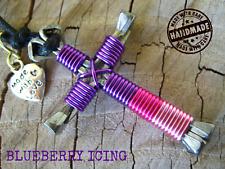 Blueberry Icing colors Cross Pendant Disciples Cross Horseshoe Nails Amulet