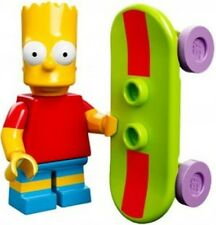 The Simpsons Lego collectible minifig Bart Simpson with skateboard
