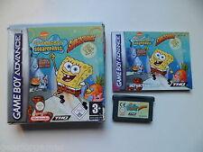 GAMEBOY ADVANCE GBA DS LITE GAME SPONGEBOB SQUAREPANTS SUPERSPONGE TESTED