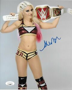 ALEXA BLISS WWE DIVA SIGNED AUTOGRAPH 8X10 PHOTO #10 W/ JSA COA