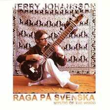JERRY JOHANSSON Raga Pa Svenska: Mystic of the Wood CD Sitar – på, ex-Grovjobb
