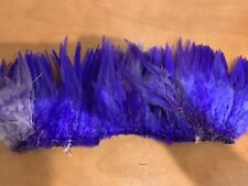 Purple Saddle Hackle over 1 oz For Fly Tying