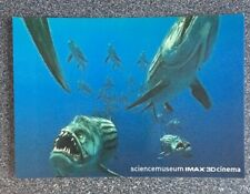 Science Museum Imax 3D Cinema Piranha Promotional Postcard from 2008