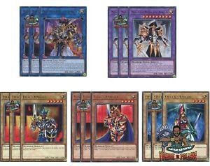 Yugioh 3x King's Queen's Jack's Arcana Extra Knight Joker KICO Rare 1st Ed NM