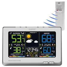 C87030 La Crosse Technology Wireless Color Weather Station with TX141TH-BCH NIB