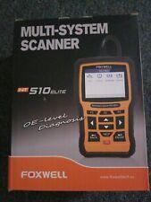 Foxwell NT510 Elite for BMW Full System OBD2 Car Diagnostic Scanner Reset Tools