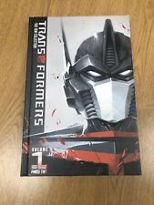 Transformers IDW Collection Phase 2 Volume 1 Hardcover OHC