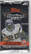 1-2008 TOPPS STADIUM CLUB NFL R/C AUTOGRAPH OR AUTOGRAPH NFL HOBBY HOT PACK