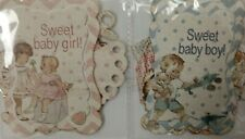 Fabscraps BABY PAPER DIE CUT OUT card craft scrapbook Embellishment topper