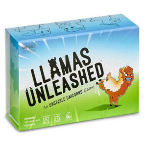 Llamas Unleashed - Fun Party Card Game - For 2-8 Players