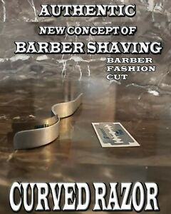 Metal Curved Straight Razor from dominican Curve barber curve razor