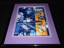 Glen Rice 1999 NBA In the Zone PS1 N64 Framed 11x14 ORIGINAL Advertisement