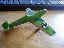 VINTAGE GERMAN ME109 CAST IRON TOY AIRPLANE HONG KONG NO. B-16