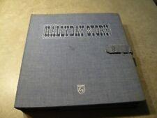 COFFRET 10 VINYLES 33 T 1961 -1974 - JOHNNY HALLYDAY  -  HALLYDAY STORY