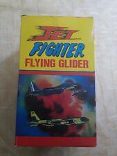 Vintage Foam Flying Gliders Jet Fighter Flying Glider 4 Dozen in box Nos