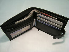 Soft Leather Wallet With Large Zipped Coin Pocket,With Card and Note Space
