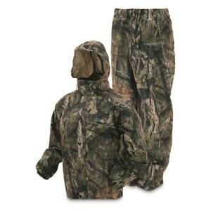 New Frogg Toggs All Sport Camo Rain Suit Realtree Edge Mossy Oak Multiple Sizes