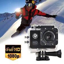 1080P Cam Sports DV Action Camera Full HD Waterproof Helmet Camcorder BLACK