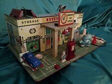 Keystone Mfg. Co. Antique Toy Gas Station Circa 1940