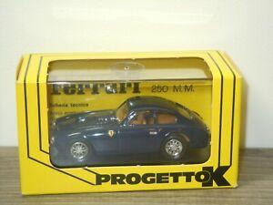 1952 Ferrari 250MM Stradale - Progetto K 032 - 1:43 in Box *49192