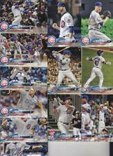 2018 TOPPS Update CHICAGO CUBS team set (13 cards) BOTE RC