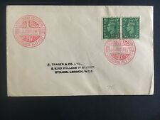 1944 Czechoslovakia Army in Britain Field Post Office Censored Cover Benes Cance