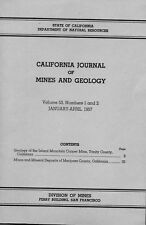 Mariposa County gold, Calif, NO BETTER BOOK, 220 mines, OLD rare, BIG sep. maps