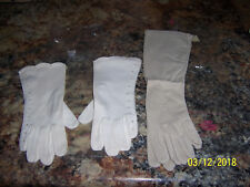 2 Pr New In Pkgs Vintage Chic PENNEY'S GAYMODE TAUPE AND OFF WHITE GLOVES OPERA