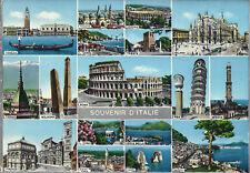 SOUVENIR D'ITALIE - VEDUTINE VARIE - NV - FG